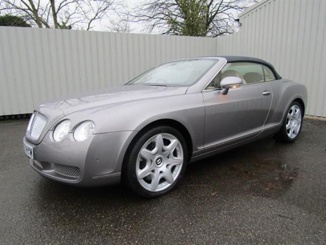 used Bentley Continental GTC 6.0 W12 Convertible Auto FJ08 HYM