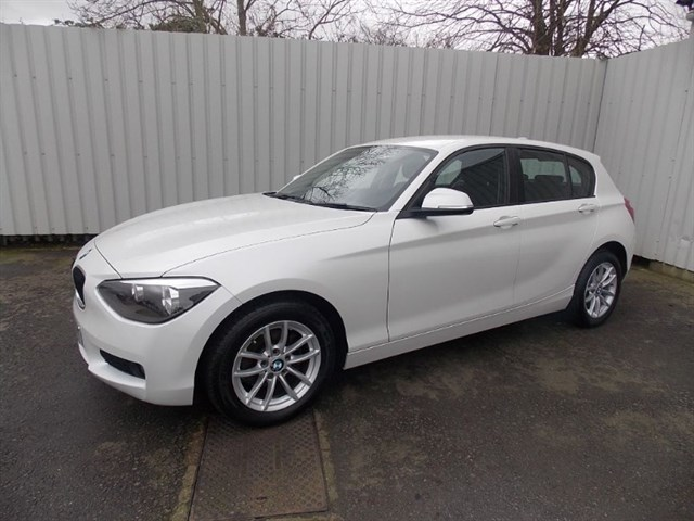 used BMW 116d 2.0D SE 5dr 1 private owner Balance of 3 year warranty