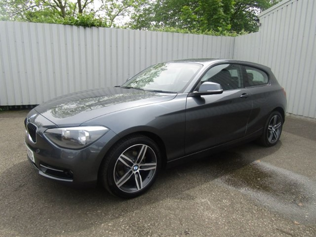 used BMW 116d 1.6D Sport 3dr Diesel Grey