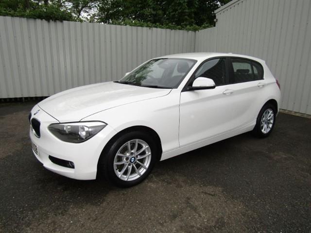 used BMW 116d 1.6D SE 5dr Diesel White YT14 VOB