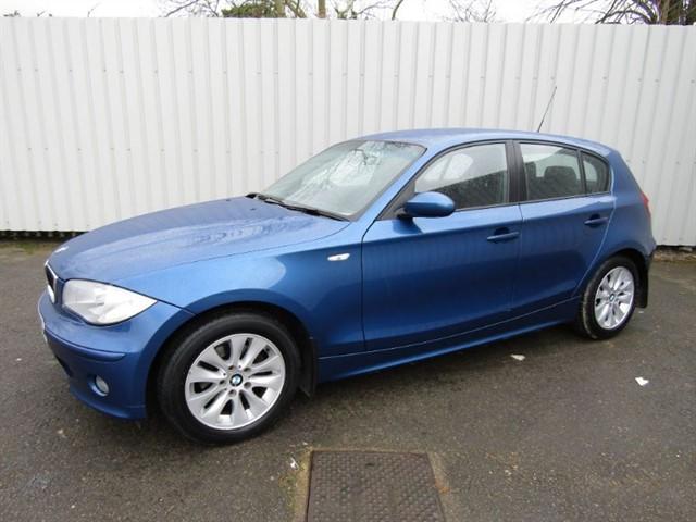 used BMW 116i 1.6 SE 5dr Blue