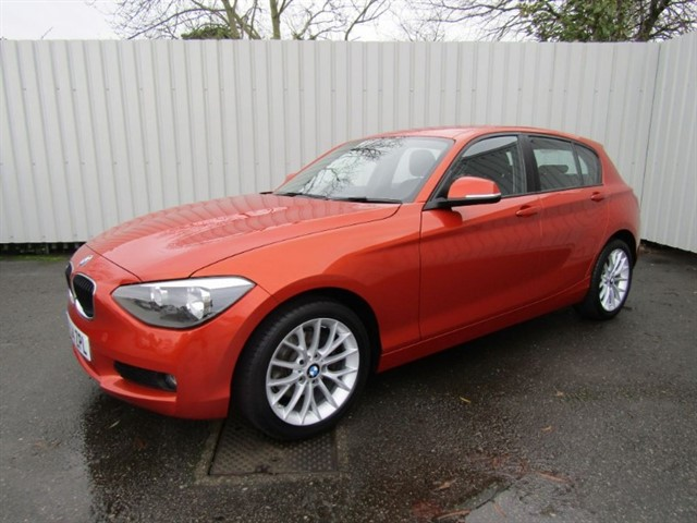 used BMW 120d 2.0D SE 5dr Diesel Automatic (177bhp) Orange