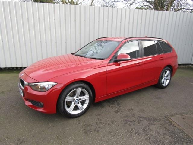 used BMW 318d 2.0d SE Touring Estate Diesel Red WJ63 ZVY