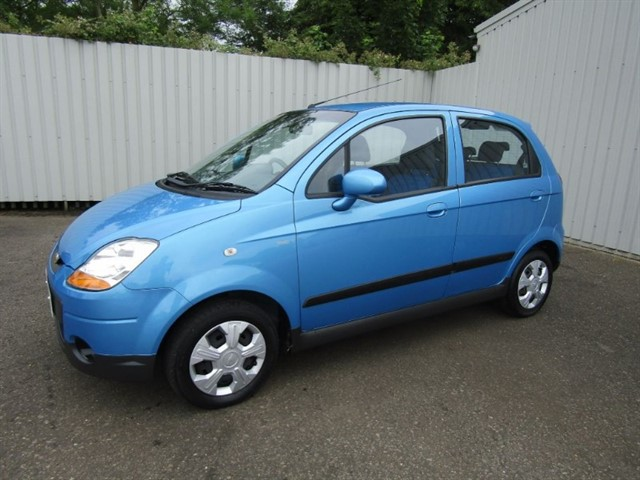 used Chevrolet Matiz 0.8 SE 5dr Automatic Blue