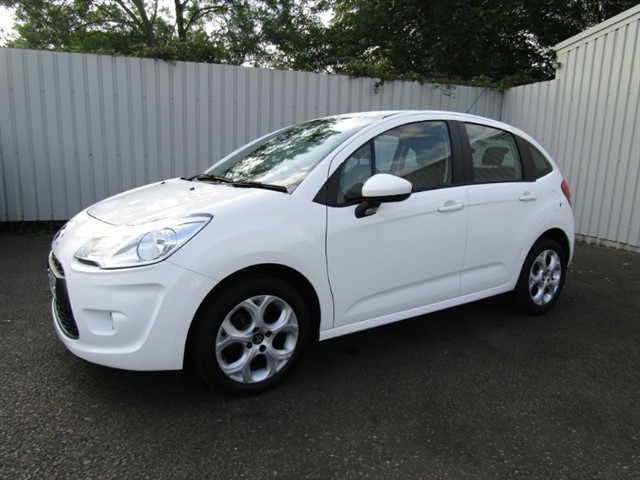 used Citroen C3 1.4 White Edition 5dr White