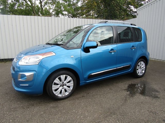 used Citroen C3 Picasso 1.6HDI Diesel Exclusive 5dr