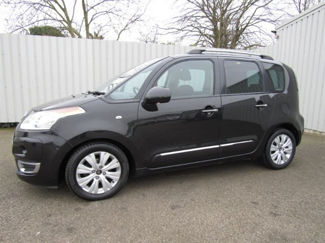 used Citroen C3 Picasso 1.6 HDI Exclusive 5dr Diesel Black
