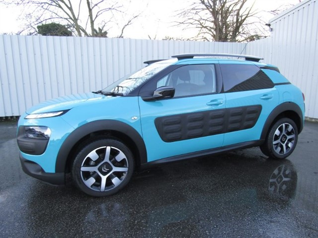 used Citroen C4 Cactus 1.6 Blue HDI Flair 5dr Diesel Automatic