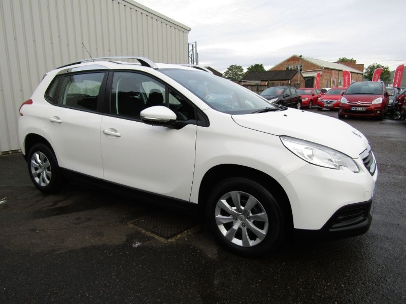 peugeot 2008 1 4 hdi access plus 5dr diesel white for sale sleaford lincolnshire john peat. Black Bedroom Furniture Sets. Home Design Ideas