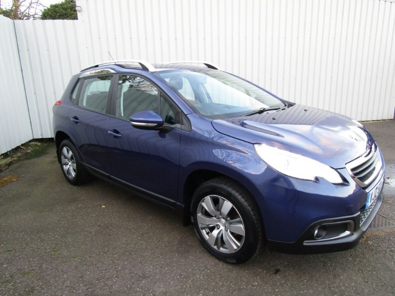 peugeot 2008 1 4 hdi active 5dr diesel blue 2014 63 for sale sleaford lincolnshire john peat. Black Bedroom Furniture Sets. Home Design Ideas