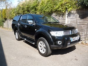 used Mitsubishi L200 DI-D 4X4 BARBARIAN LB DCB in west-malling-kent-for-sale