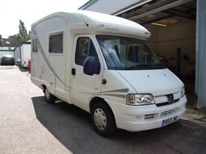 used Peugeot Boxer AUTO-SLEEPER NUEVO in west-malling-kent-for-sale