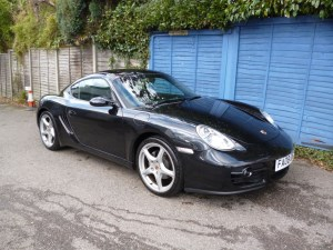 used Porsche Cayman 24V 35,000 MILES FROM NEW in west-malling-kent-for-sale