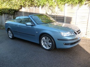 used Saab 9-3 VECTOR T 14,000 MILES FROM NEW in west-malling-kent-for-sale