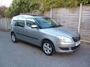 used Skoda Roomster SE TSI DSG AUTOMATIC in west-malling-kent-for-sale