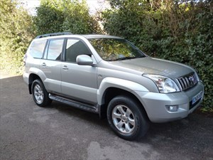 used Toyota Land Cruiser LC4 8-SEATS D-4D in west-malling-kent-for-sale