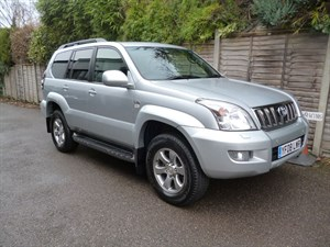 used Toyota Land Cruiser INVINCIBLE D-4D 8STR in west-malling-kent-for-sale