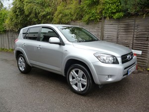 used Toyota RAV4 RAV-4 SR180 D-4D FULL LEATHER TRIM in west-malling-kent-for-sale