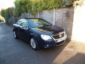 used VW Eos SPORT TDI DSG AUTOMATIC in west-malling-kent-for-sale
