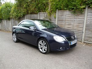 used VW Eos SPORT TDI FULL LEATHER TRIM in west-malling-kent-for-sale