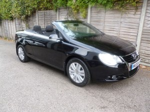 used VW Eos TDI DSG RARE DIESEL AUTOMATIC in west-malling-kent-for-sale