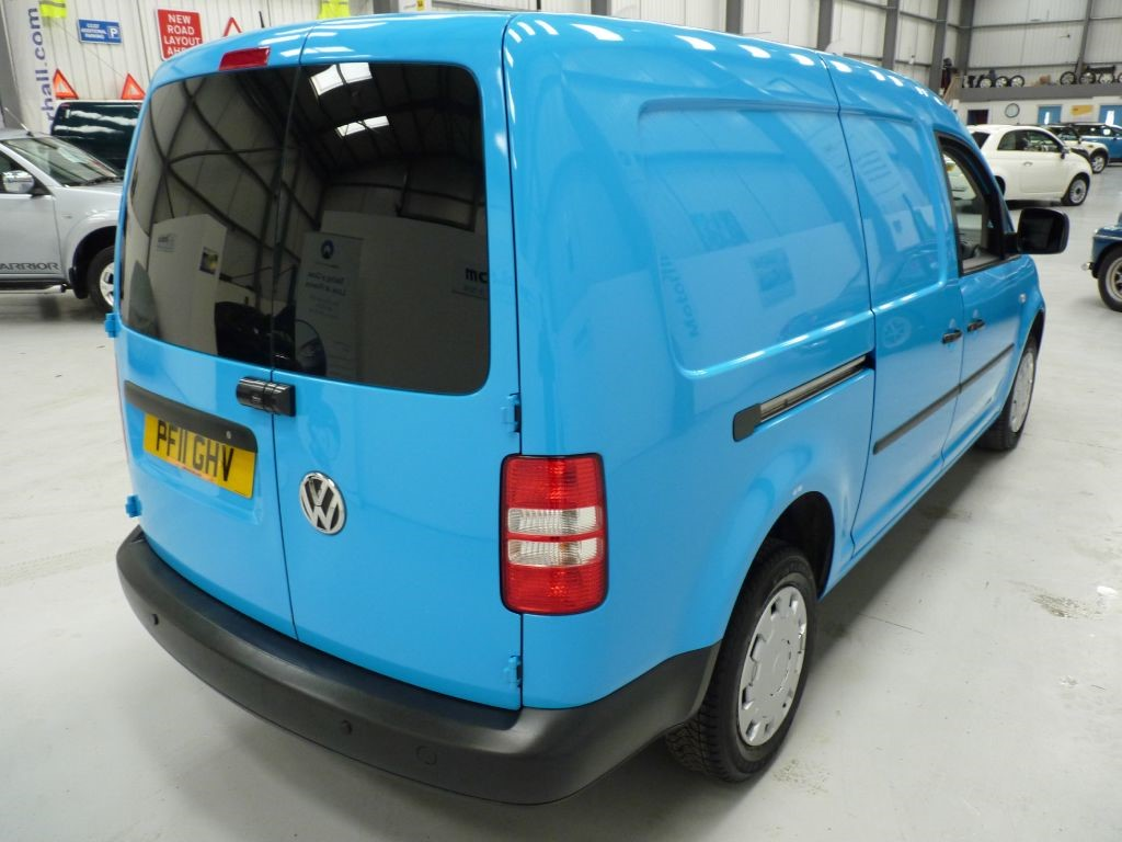 Used Blue Vw Caddy Maxi For Sale South Yorkshire