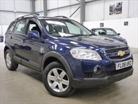 Used Chevrolet Captiva LT VCDI+7 seater+svs history+detachable towbar