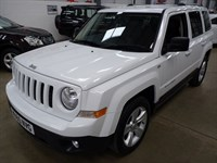 Used Jeep Patriot CRD LIMITED + SVS HIST + WHITE!