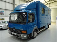 Used Mercedes Atego HORSEBOX + NO VAT + JUST SERVICED