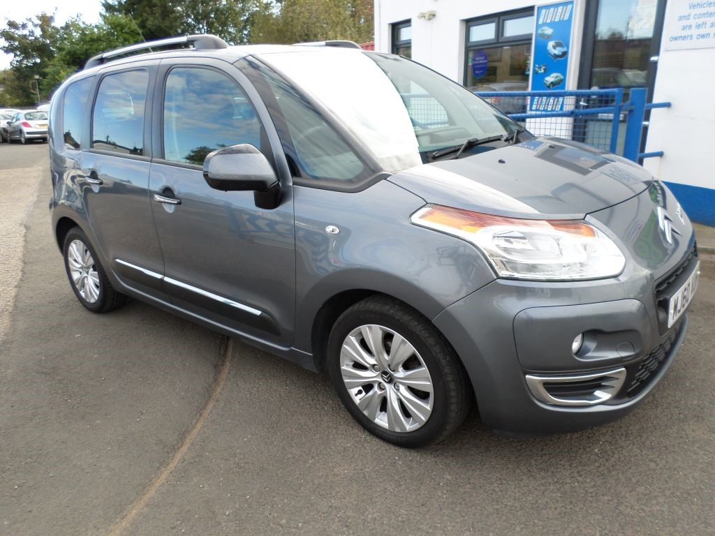 used grey citroen c3 picasso for sale dumfries and galloway. Black Bedroom Furniture Sets. Home Design Ideas
