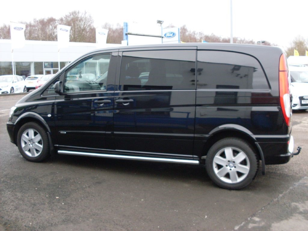 Used Black Mercedes Vito For Sale Dumfries And Galloway