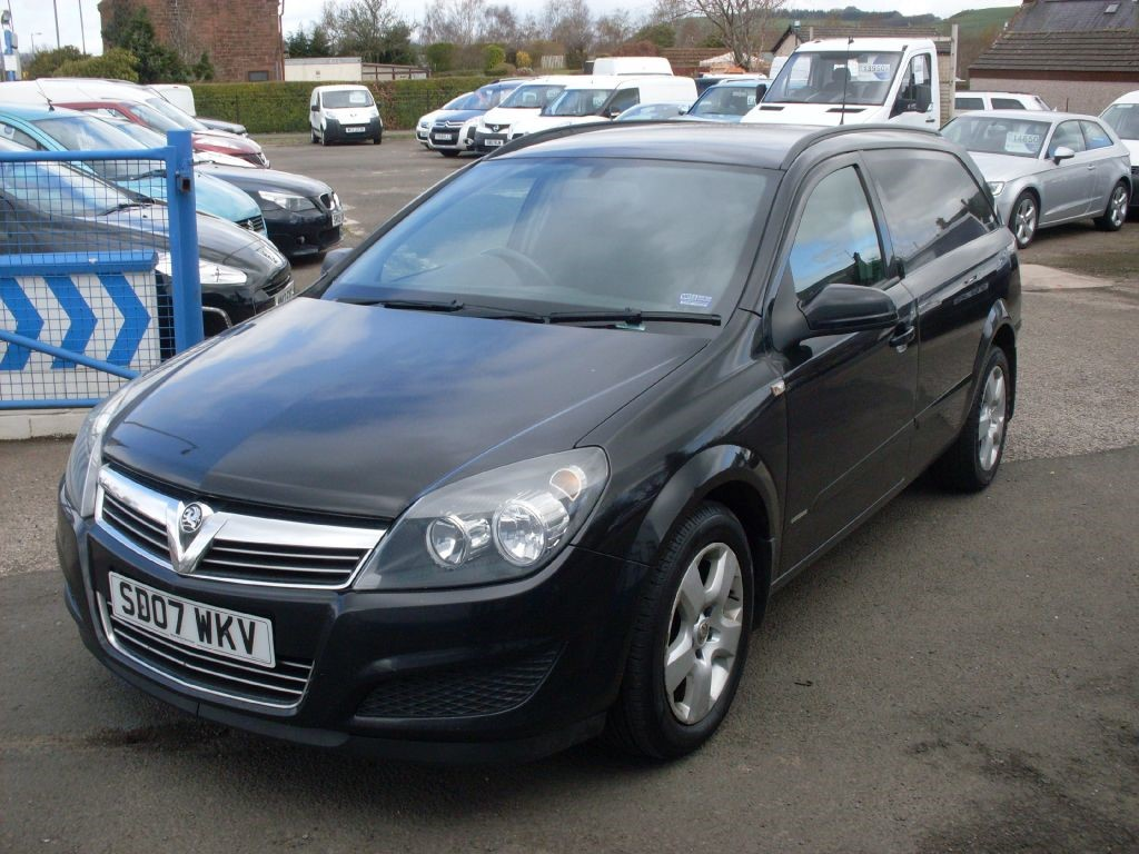 Used Black Vauxhall Astra For Sale Dumfries And Galloway