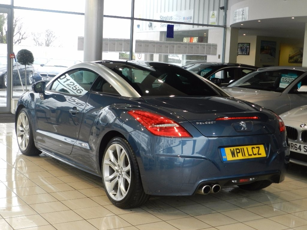 used blue peugeot rcz for sale hampshire. Black Bedroom Furniture Sets. Home Design Ideas