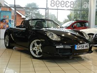 Used Porsche Boxster Sport Edition 2dr BLACK LEATHER, HEATED SEATS
