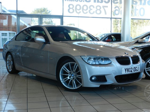 BMW 320d 3 SERIES TD M Sport 2dr COAL RED DAKOTA LEATHER