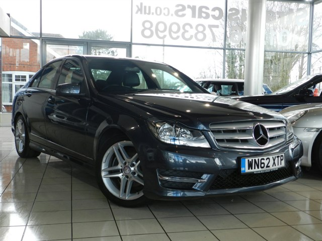 Mercedes-Benz C220 C CLASS CDI BlueEFFICIENCY AMG Sport 4dr Map Pilot
