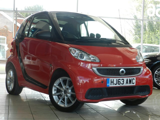 Smart Fortwo MHD Passion Softouch 2dr