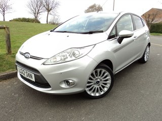 Ford Fiesta Titanium  Automatic  City Pack