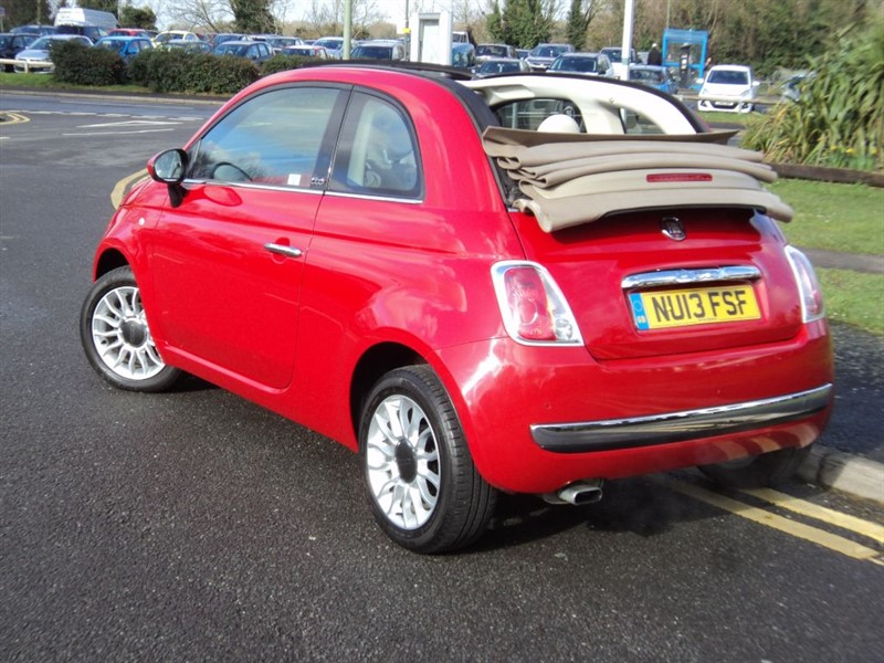 fiat 500c lounge cabriolet one owner for sale epsom downs surrey belmont garage. Black Bedroom Furniture Sets. Home Design Ideas