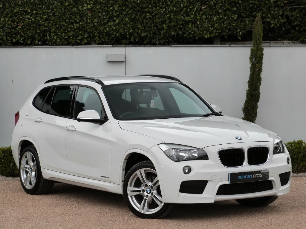 used alipine white bmw x1 for sale dorset. Black Bedroom Furniture Sets. Home Design Ideas