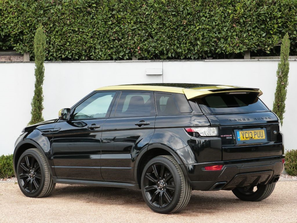 land rover range rover evoquesd4 special edition for sale. Black Bedroom Furniture Sets. Home Design Ideas