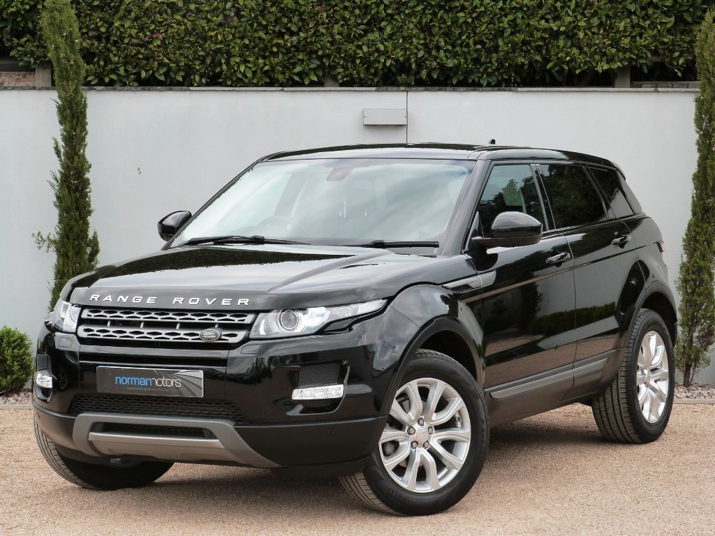 used black land rover range rover evoque for sale dorset. Black Bedroom Furniture Sets. Home Design Ideas
