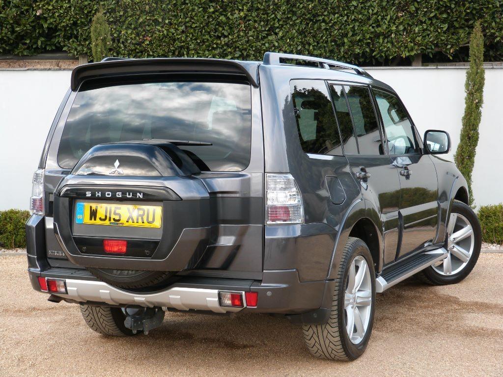 Used Eiger Grey Mitsubishi Shogun for Sale | Dorset