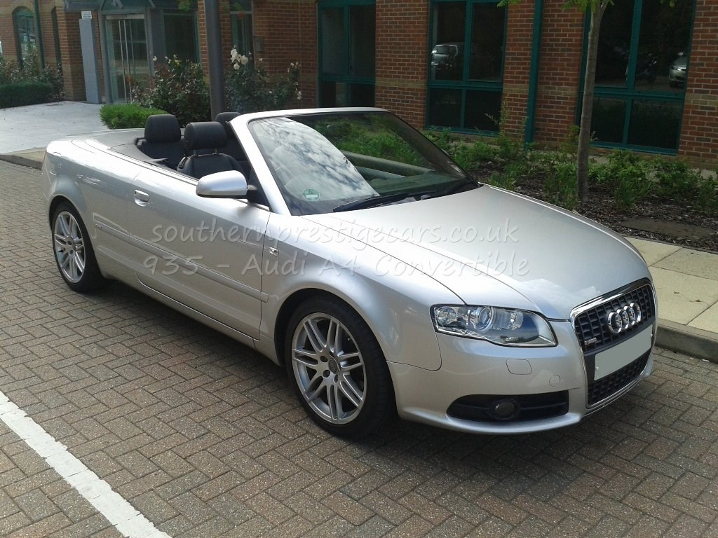 used audi a4 a4 cabriolet t fsi s line special edition 2dr sold for sale in surrey southern. Black Bedroom Furniture Sets. Home Design Ideas
