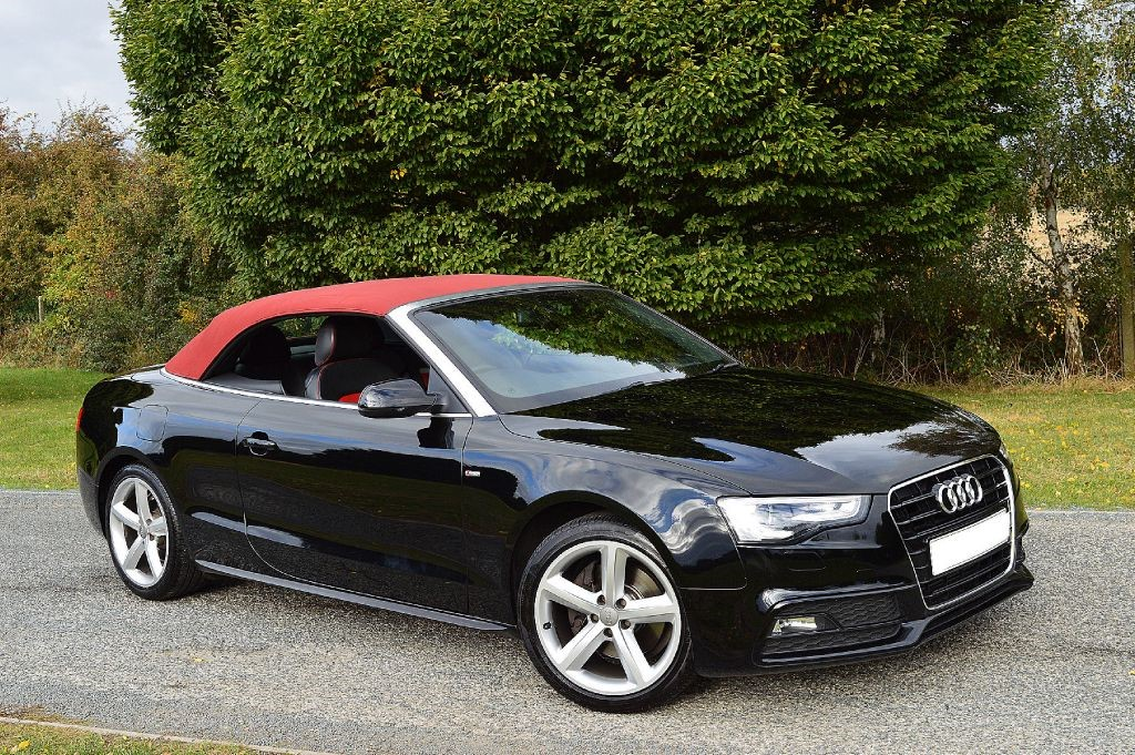 used ebony black audi a5 for sale essex. Black Bedroom Furniture Sets. Home Design Ideas