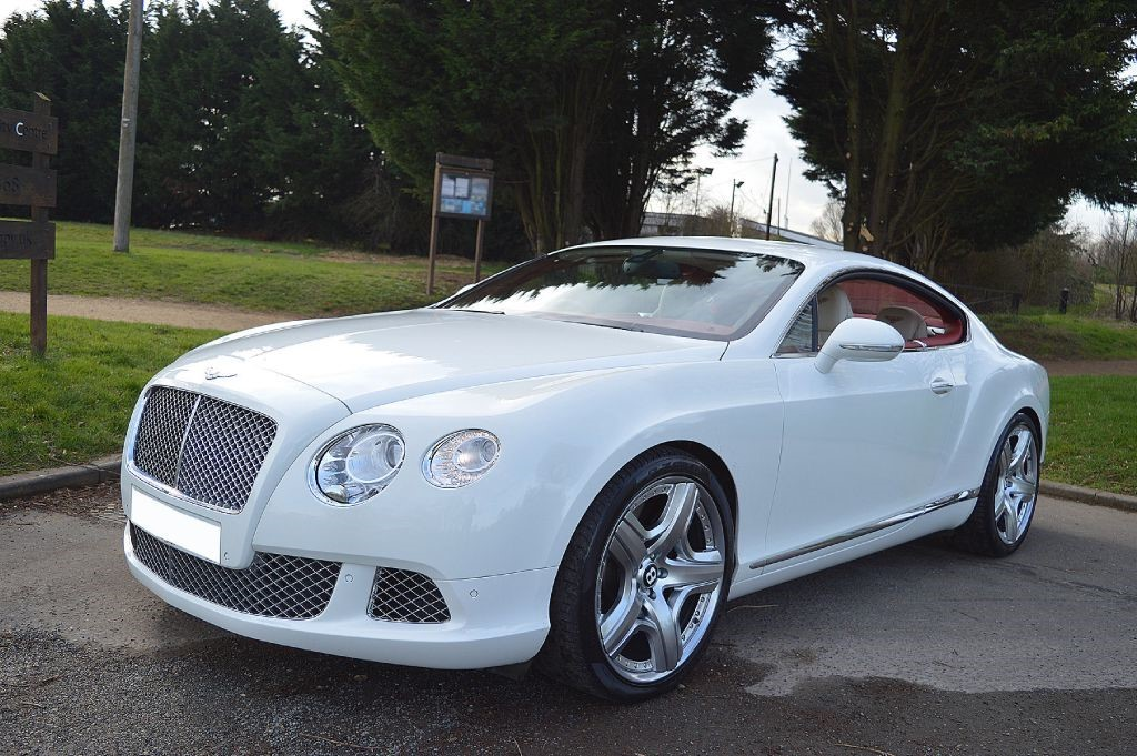 Used Glacier White Bentley Continental Gt For Sale Essex