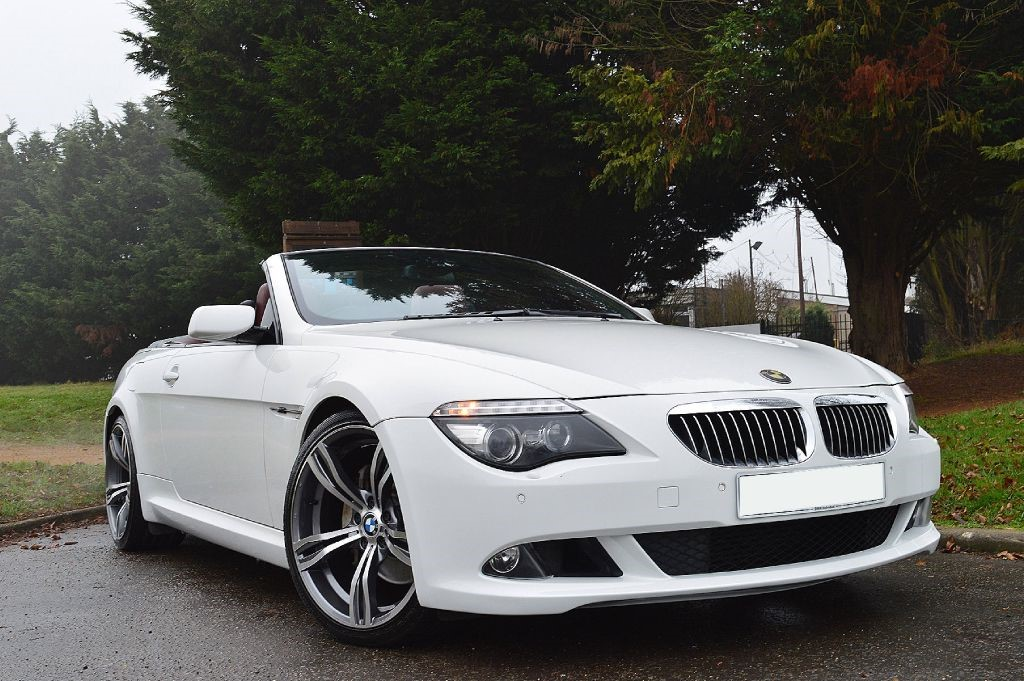used alpine white bmw 635d for sale essex. Black Bedroom Furniture Sets. Home Design Ideas