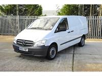 Used Mercedes Vito 113 CDi Long Van Ex Demo