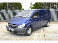 Used Mercedes Vito 122 CDi Van High Spec