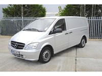 Used Mercedes Vito 113 CDi Van Air Con Low Miles